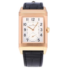 Pre-Owned Jaeger-LeCoultre Reverso 18 Karat Rose Gold Q3842520 Watch