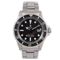 "Pre-Owned ""Loaded"" Rolex Red Submariner Ref. #1680"