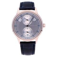 Pre-Owned Patek Philippe Annual Calender 18 Karat White Gold 5235G-001 Watch