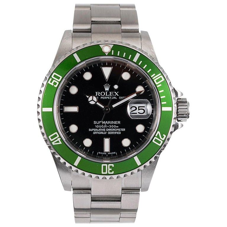 Pre-Owned Rolex Anniversary Submariner Ref. #16610V For Sale