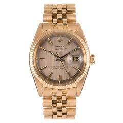 Pre-Owned Rolex Datejust Ref. #1601 with Textured Dial