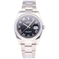 Pre-Owned Rolex Datejust Stainless Steel 116200 Watch