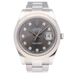 Pre-Owned Rolex Datejust Stainless Steel 116334 Watch