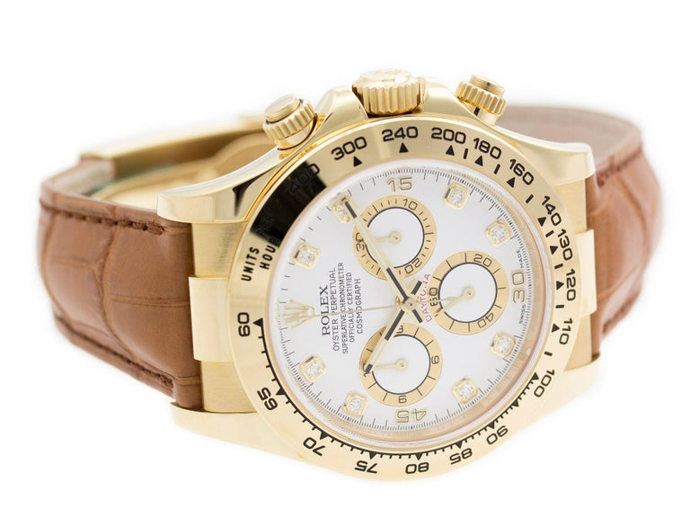 Pre-Owned Rolex Daytona 116518 In Excellent Condition In Willow Grove, PA