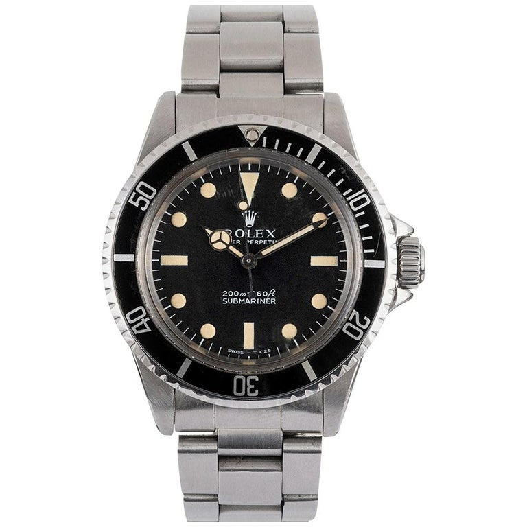 """Pre-Owned Rolex """"Meters First"""" Submariner Ref. #5513 For Sale"""