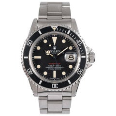 Pre-Owned Rolex MKV Red Submariner Ref. #1680