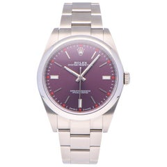 Pre-Owned Rolex Oyster Perpetual Stainless Steel 114300 Watch