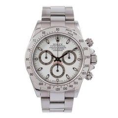 "Pre-Owned Rolex ""P Series"" Daytona Stainless Steel Ref. #116520 with Box & Paper"