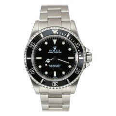Pre-Owned Rolex Submariner Ref 14060 Stainless Steel, circa 1997