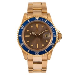 "Pre-Owned Rolex Submariner Ref. #1680 with ""Tropical"" Dial"