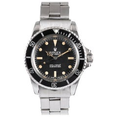"Pre-Owned Rolex Submariner Ref. #5513 with ""Meters First"" Dial"