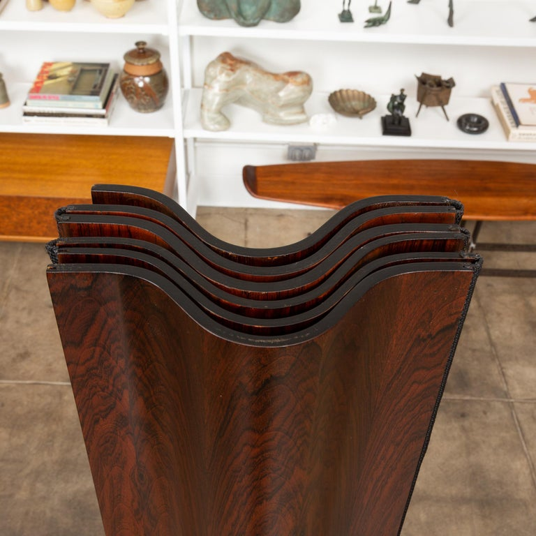 Pre-Production Eames Rosewood Folding Screen for Herman Miller 10
