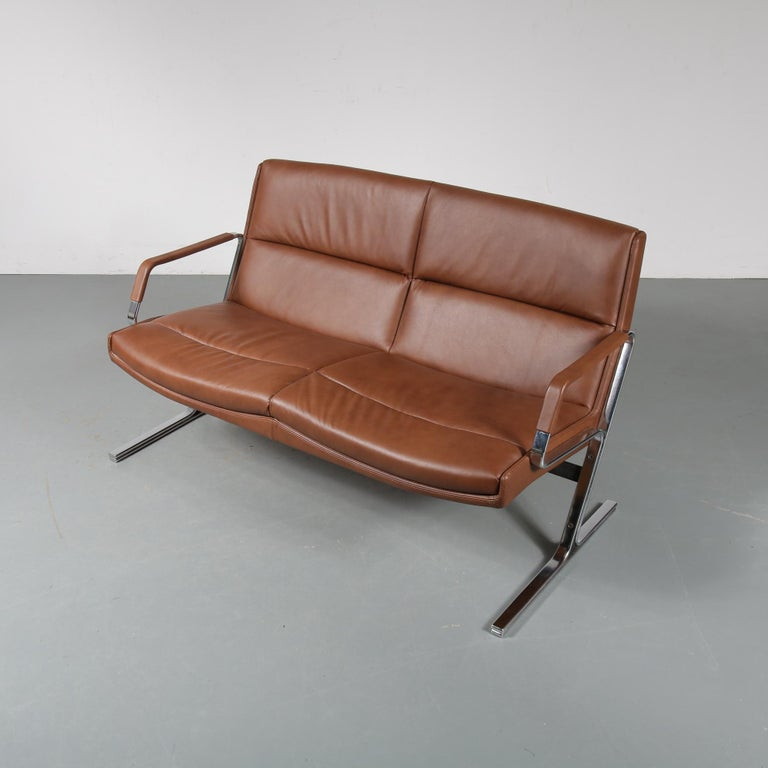 preben fabricius 2 seat sofa for walter knoll germany 1970 for sale at 1stdibs. Black Bedroom Furniture Sets. Home Design Ideas
