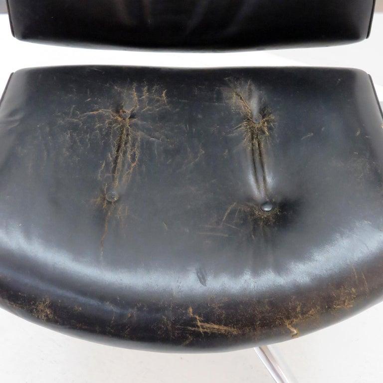 Preben Fabricius and Jørgen Kastholm Office Chair Model FK84 For Sale 4