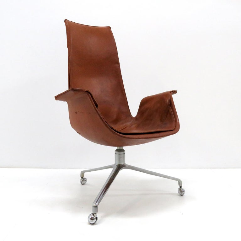 Danish Preben Fabricius Jorgen Kastholm Bird Chairs Kill, 1964 For Sale