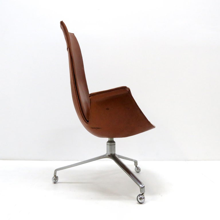 Preben Fabricius Jorgen Kastholm Bird Chairs Kill, 1964 In Good Condition For Sale In Los Angeles, CA