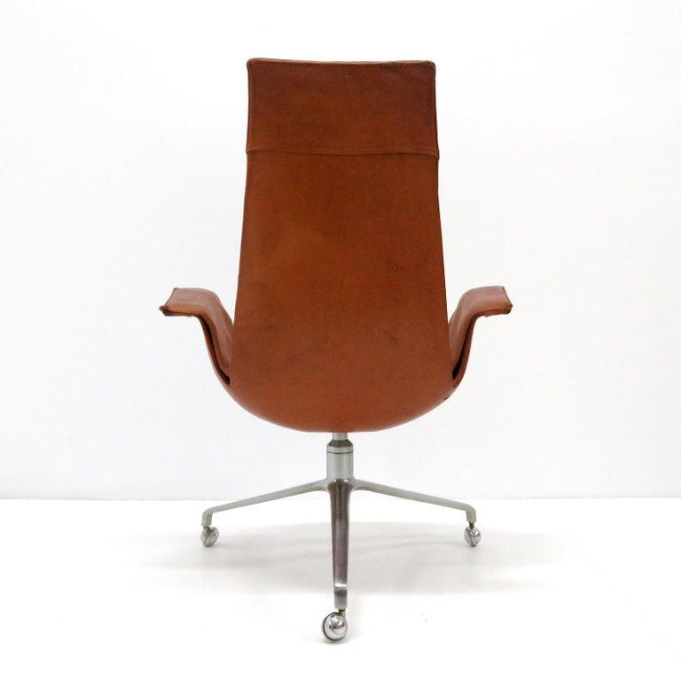 Mid-20th Century Preben Fabricius Jorgen Kastholm Bird Chairs Kill, 1964 For Sale