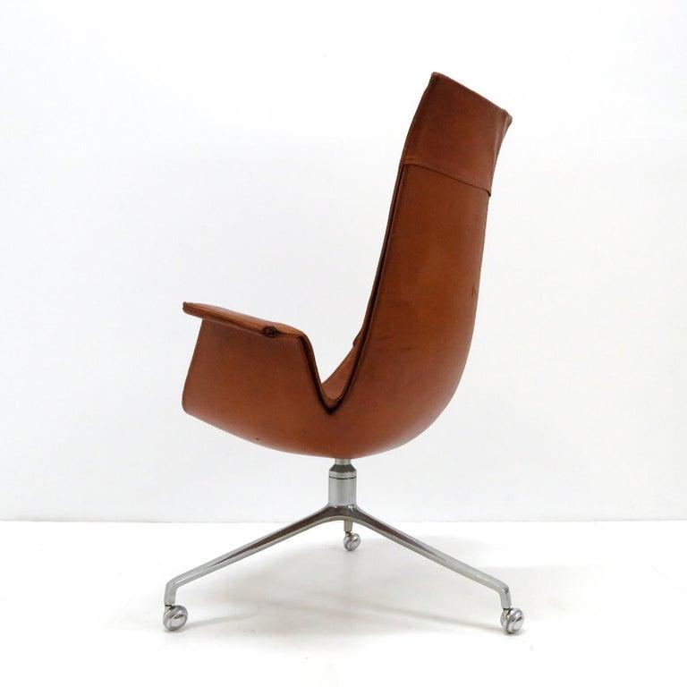 Aluminum Preben Fabricius Jorgen Kastholm Bird Chairs Kill, 1964 For Sale