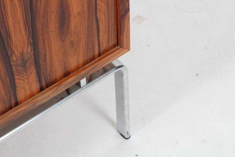 Preben Fabricius & Jorgen Kastholm Freestanding Credenza, Model FK150, Rosewood For Sale 5