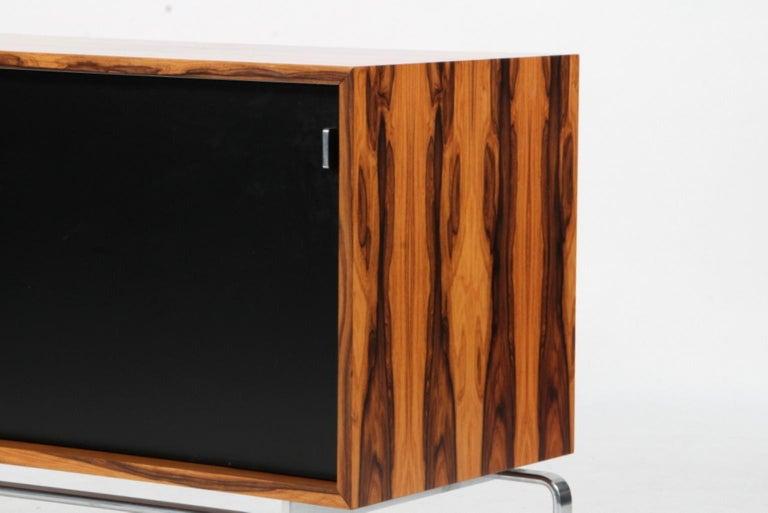 Danish Preben Fabricius & Jorgen Kastholm Freestanding Credenza, Model FK150, Rosewood For Sale
