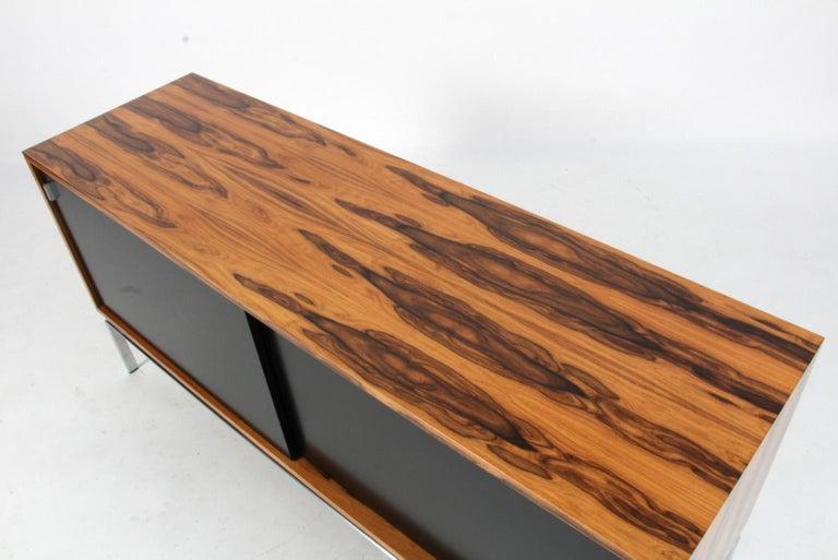 Preben Fabricius & Jorgen Kastholm Freestanding Credenza, Model FK150, Rosewood For Sale 1