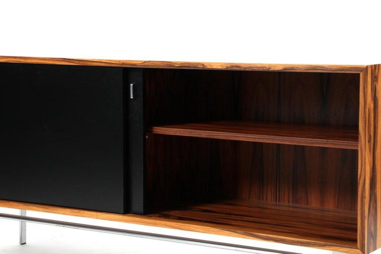 Preben Fabricius & Jorgen Kastholm Freestanding Credenza, Model FK150, Rosewood For Sale 2