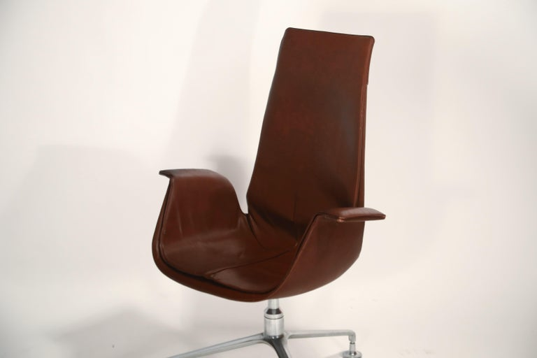 Preben Fabricius & Jørgen Kastholm 'Bird' Chairs for Alfred Kill International For Sale 6