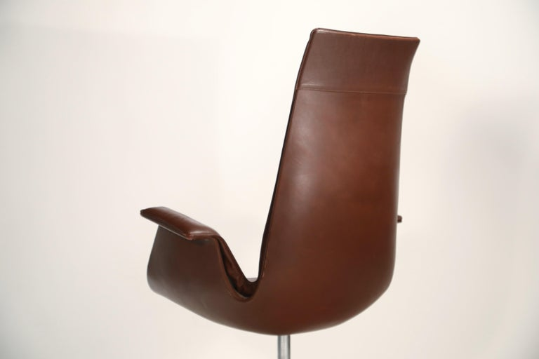 Preben Fabricius & Jørgen Kastholm 'Bird' Chairs for Alfred Kill International For Sale 8