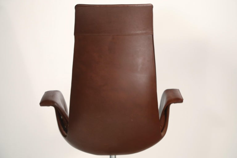 Preben Fabricius & Jørgen Kastholm 'Bird' Chairs for Alfred Kill International For Sale 10