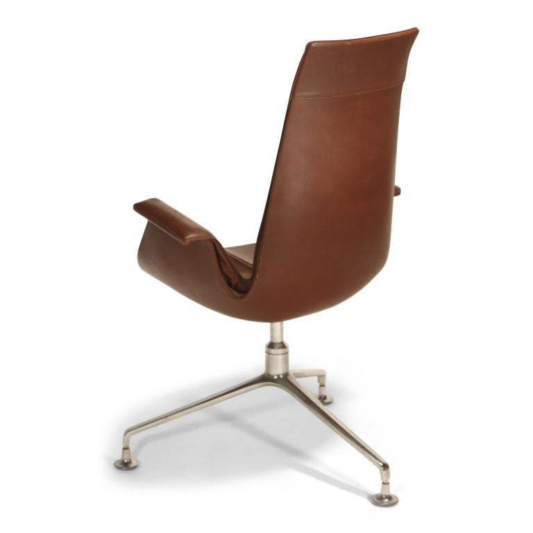 German Preben Fabricius & Jørgen Kastholm 'Bird' Chairs for Alfred Kill International For Sale