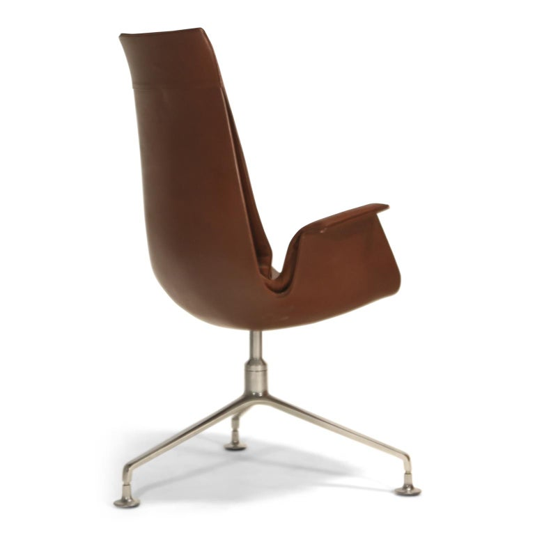 1960s Preben Fabricius & Jørgen Kastholm 'Bird' Chairs for Alfred Kill International For Sale