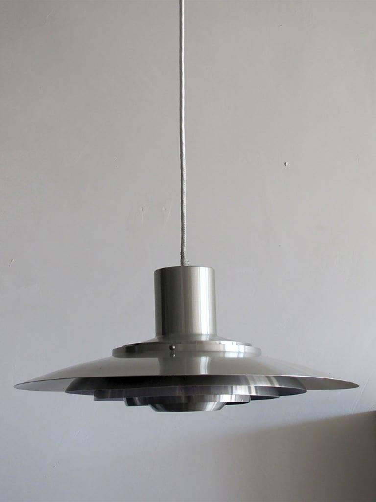 Mid-Century Modern Preben Fabricius & Jørgen Kastholm Hanging Light, 1960 For Sale