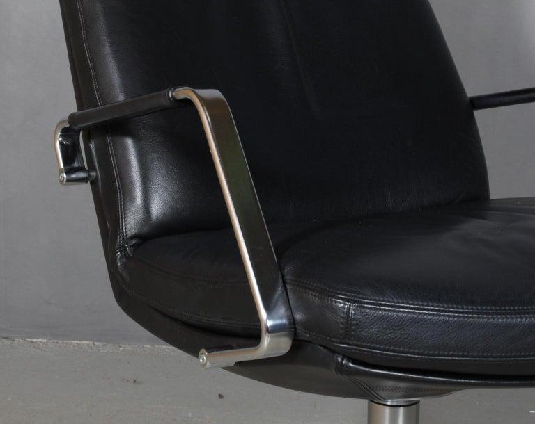 Preben Fabricius & Jørgen Kastholm, Lounge Chair, Model FK 86 In Excellent Condition In Esbjerg, DK