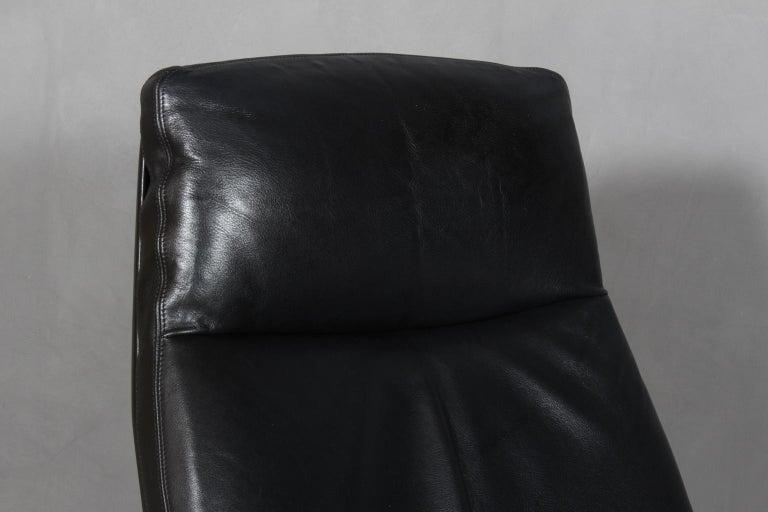 Mid-20th Century Preben Fabricius & Jørgen Kastholm, Lounge Chair, Model FK 86