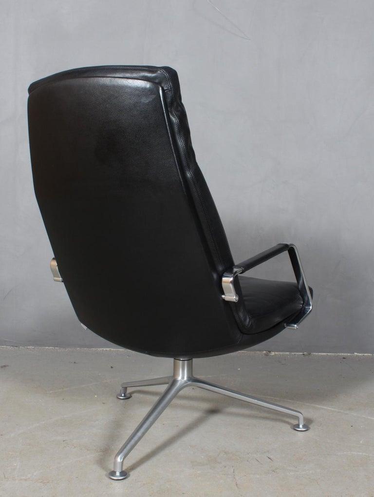 Preben Fabricius & Jørgen Kastholm, Lounge Chair, Model FK 86 1