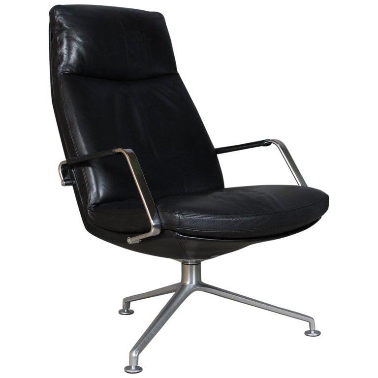 Preben Fabricius & Jørgen Kastholm, Lounge Chair, Model FK 86