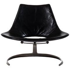 Preben Fabricius & Jørgen Kastholm Scimitar Easy Chair by Ivan Schlecter