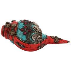Precious Tibetan Shell, 19th Century
