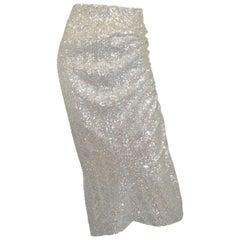 PREEN by Thornton Bregazzi Sequin-Embellished Skirt