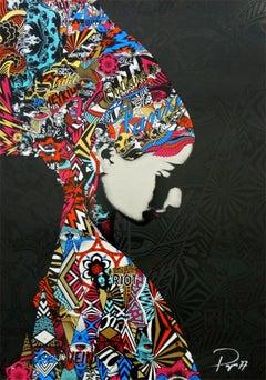 PREFAB77: Outlandos D'amour. Limited edition screen print. Street Art, Graffiti