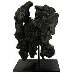 Prehistoric Chinese Iron Ore Stone Sculpture, China