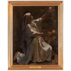 Preliminary Study for The Wise and Foolish Virgins by Frans Schwartz