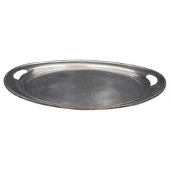 Prelude By International Sterling Silver Tea Tray Marked #124 80