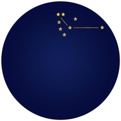 Première Constellation de la Victoire, Contemporary Porcelain Dinner Plates