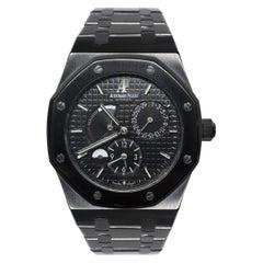Audemars Piguet Royal Oak Dual Time Preowned Custom Wrist Watch