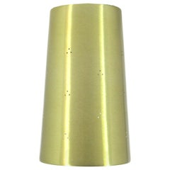 Prescolite Perforated Brass Ceiling Can Light