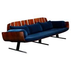 'Presidencial' Sofa by Jorge Zalszupin for L'Atelier Brazil, c. 1960, Signed