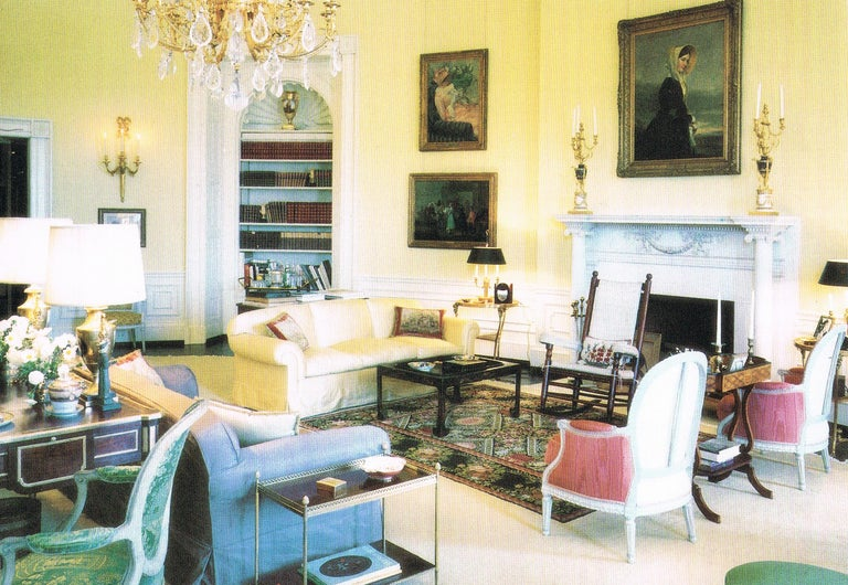 President John F. & First Lady Jacqueline Kennedy's English Victorian tea table Quite possibly the most important tea table in American History The famed, English Victorian tea table Owned by President John F. Kennedy and First Lady Jacqueline