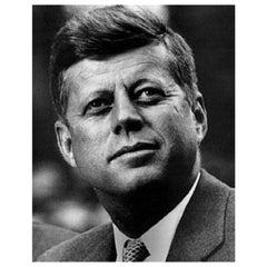 President John F. Kennedy Authentic Vintage Strand of Hair, 20th Century