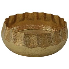 Presley Bowl in Brass by CuratedKravet
